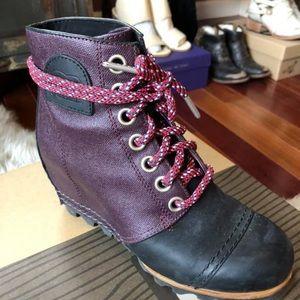 dddf93e4fb9 Sorel Shoes - Sorel Womens 1964 Premium Wedge - Purple Dahlia